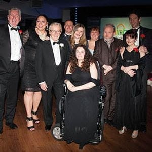 Photo of Guests posing for Pictures at Champions UK Charity Ball Event