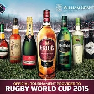 William Grant & Sons – Rugby World Cup – The Lewis Moody Foundation